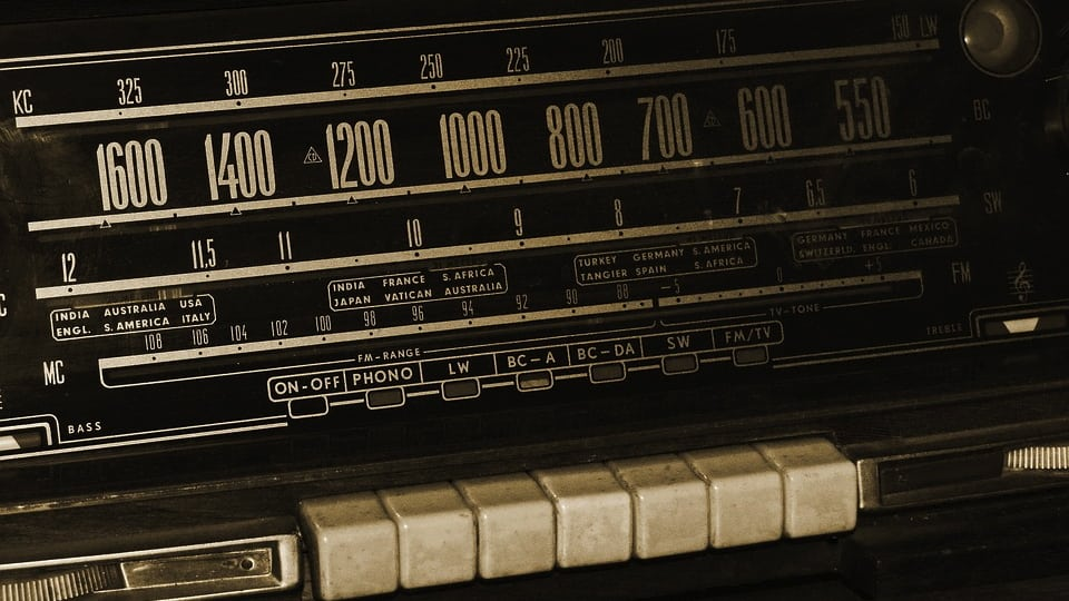 Car Radio with Buttons