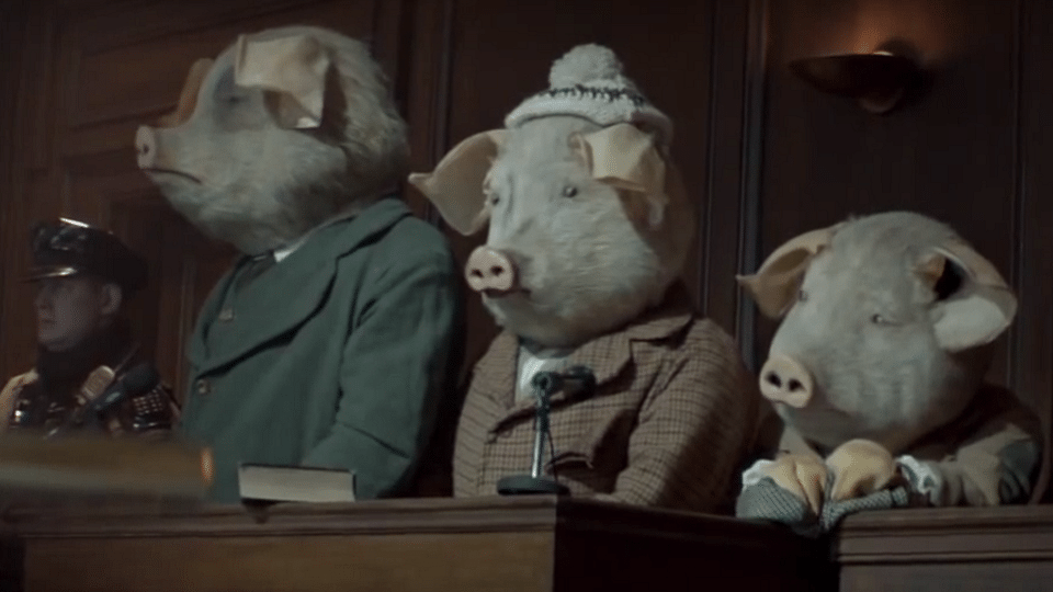 Guardian Three Little Pigs ad