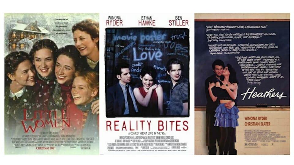 Winona Ryder movies