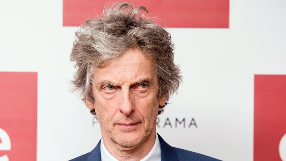 Peter Capaldi as Doctor Who from Getty Images