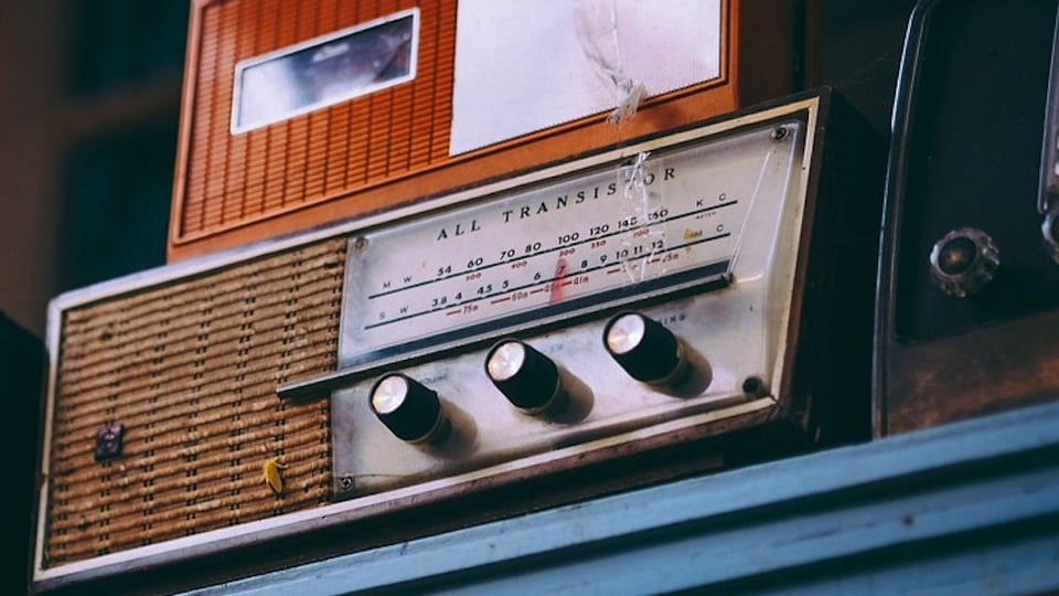Three old radios