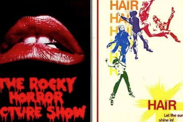 Rocky Horror and Hair Posters (Fair Use)