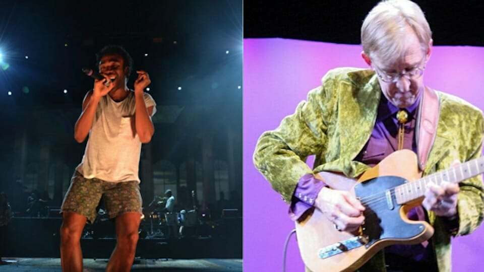 Childish Gambino and Bill Kirchen