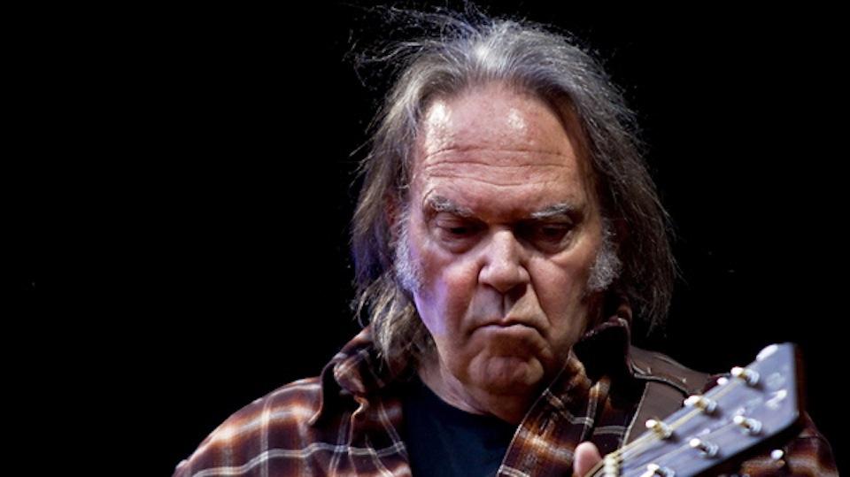 Neil Young by Per Ole Hagen via Wikimedia