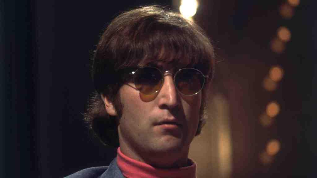 1966: John Lennon (1940 - 1980) of the Beatles.