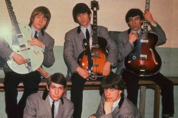 The Rolling Stones Guitars Courtesy of Getty