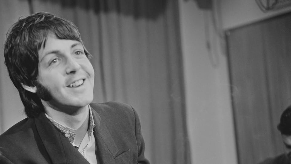 Paul McCartney 1968 Courtesy of Getty Images