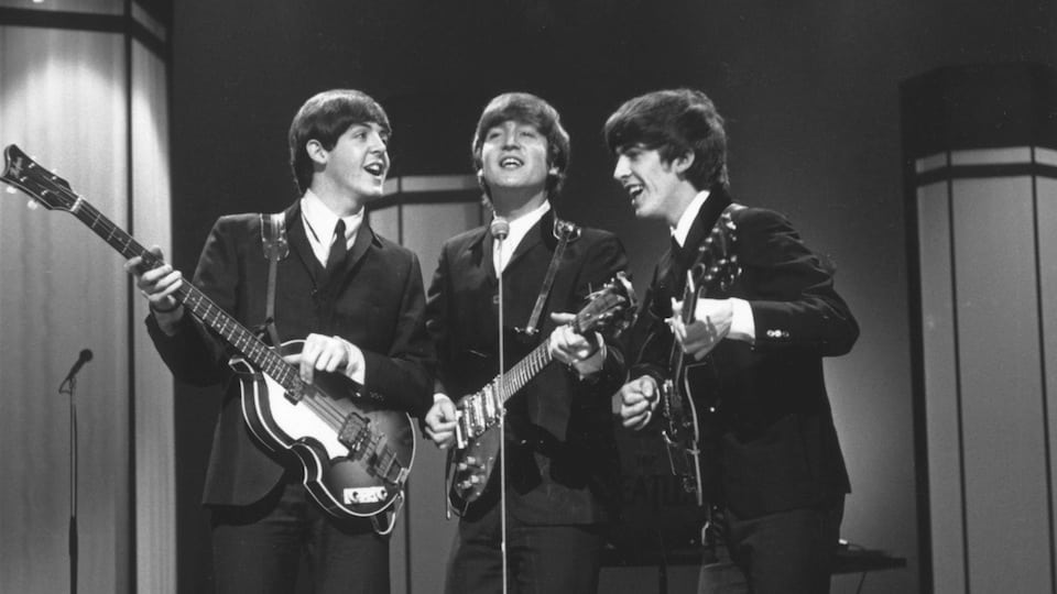 Three Beatles 1964