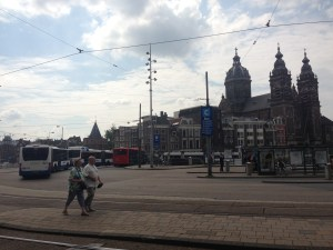 Photo by Nicolette of the Amsterdam Centraal station, The Netherlands.