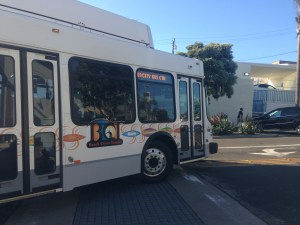 Photo by Kevin Wilkerson. Bus from Hermosa Beach