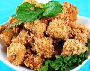salt & pepper chicken at Tea Twitter Flushing