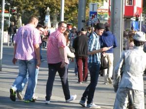guys walking austria
