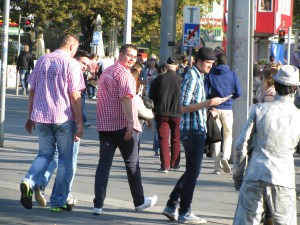 guys walking austria