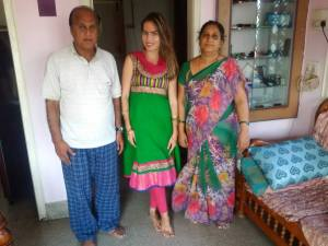 host indian family