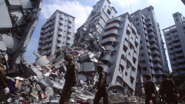 Earthquake in Taiwan on February 2016 (Photo credits to tehelka.com)