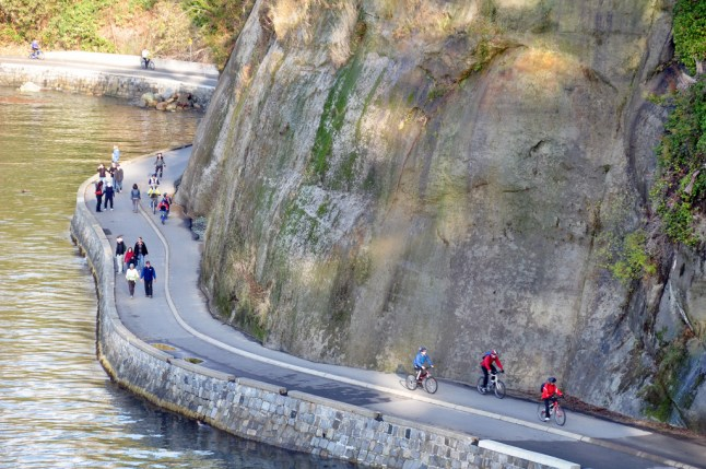 Stanley Park seawall (Photo from Straight.com)