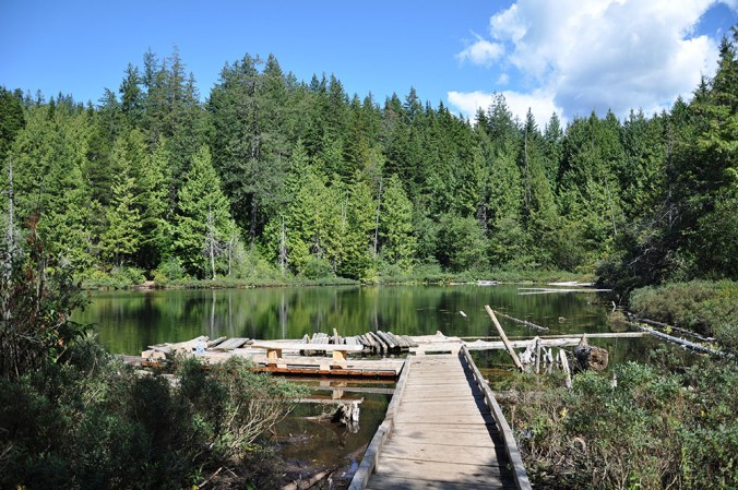 Whyte lake in West Vancouver (Photo from DailyHive.com)