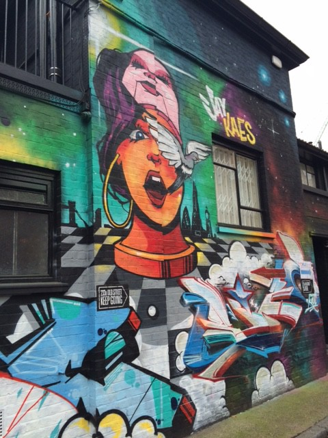 Street art on London walking tours