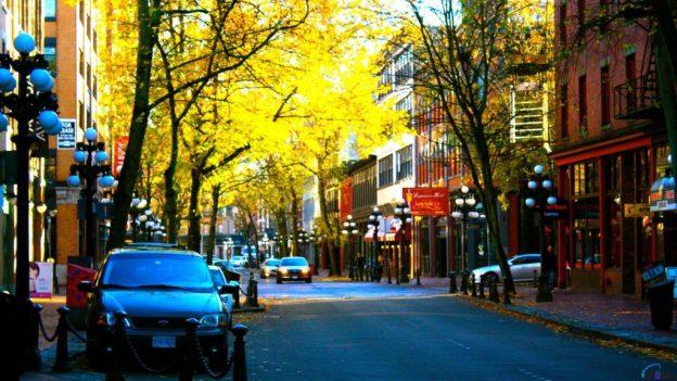Vancouver Streets. Photo Credits: http://pcwallart.com