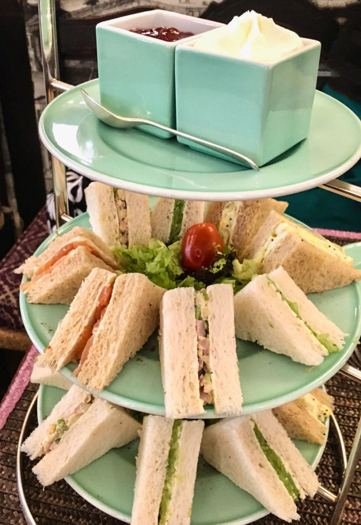 babington's brew: tea and sandwiches