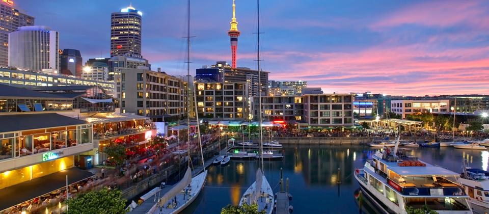 Auckland Central is an exciting hub of shops, cafes, restaurants and bars (Photo credits: NewZealand.com)