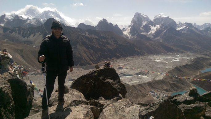 Greg in Mount Everest 2016