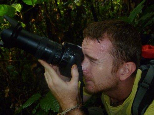 Greg in Sumatra, Indonesia