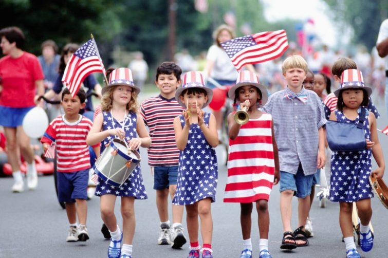 Independence Day Parade (Photo credits to history.com)