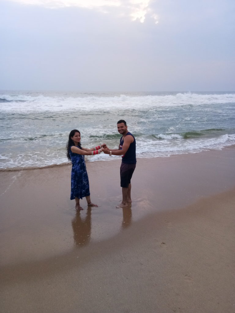 honeymoon kerala Kovalam Beach
