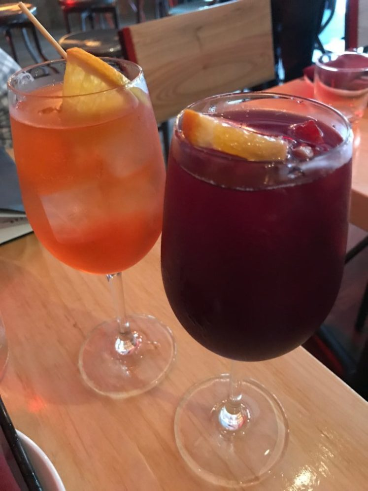 sangria at lamano's tapas