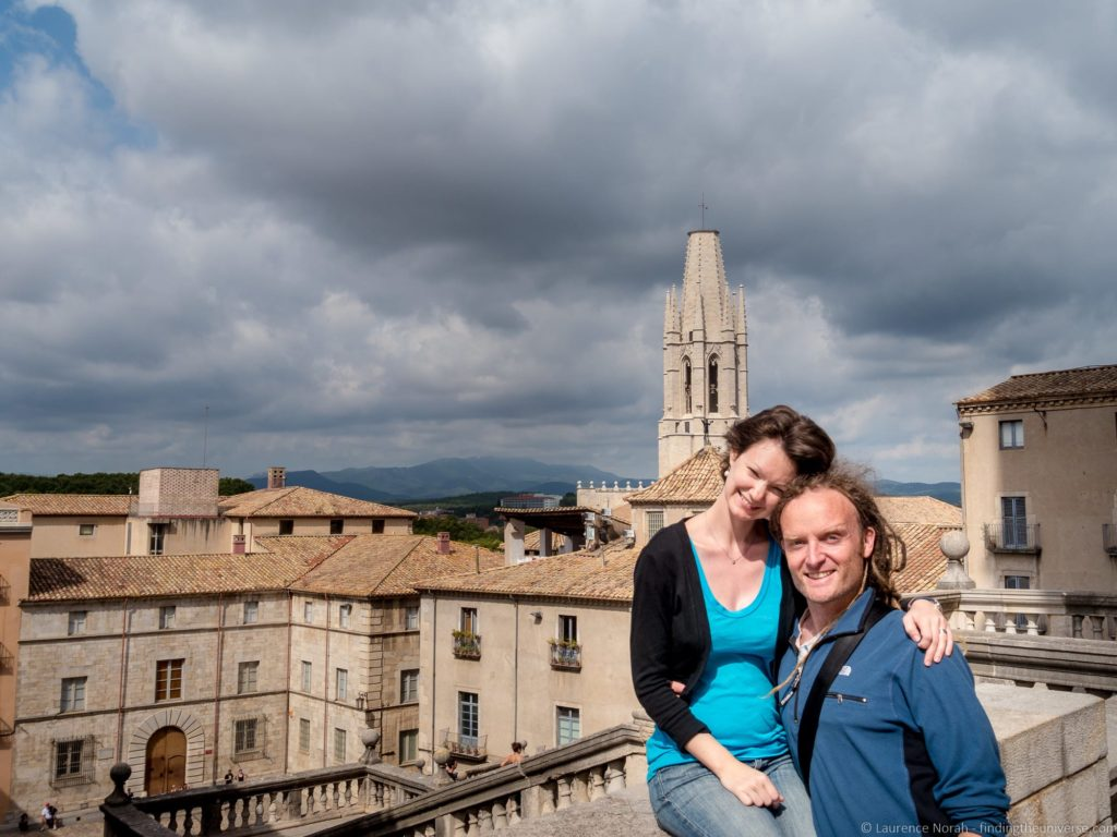 Laurence and Jessica of finding the universe in Girona