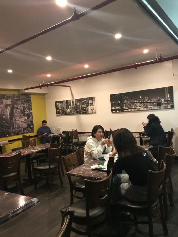 Hostelling International NYC dining room
