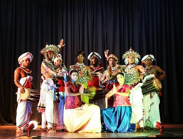 Kandyan cultural dance in Kandy, Sri Lanka