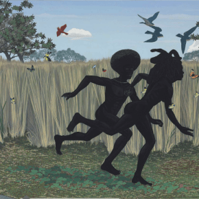 Kerry James Marshall's 'Vignette' Sells at Christie's for Record $1 Million