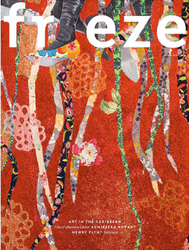 ebony g. patterson - frieze cover