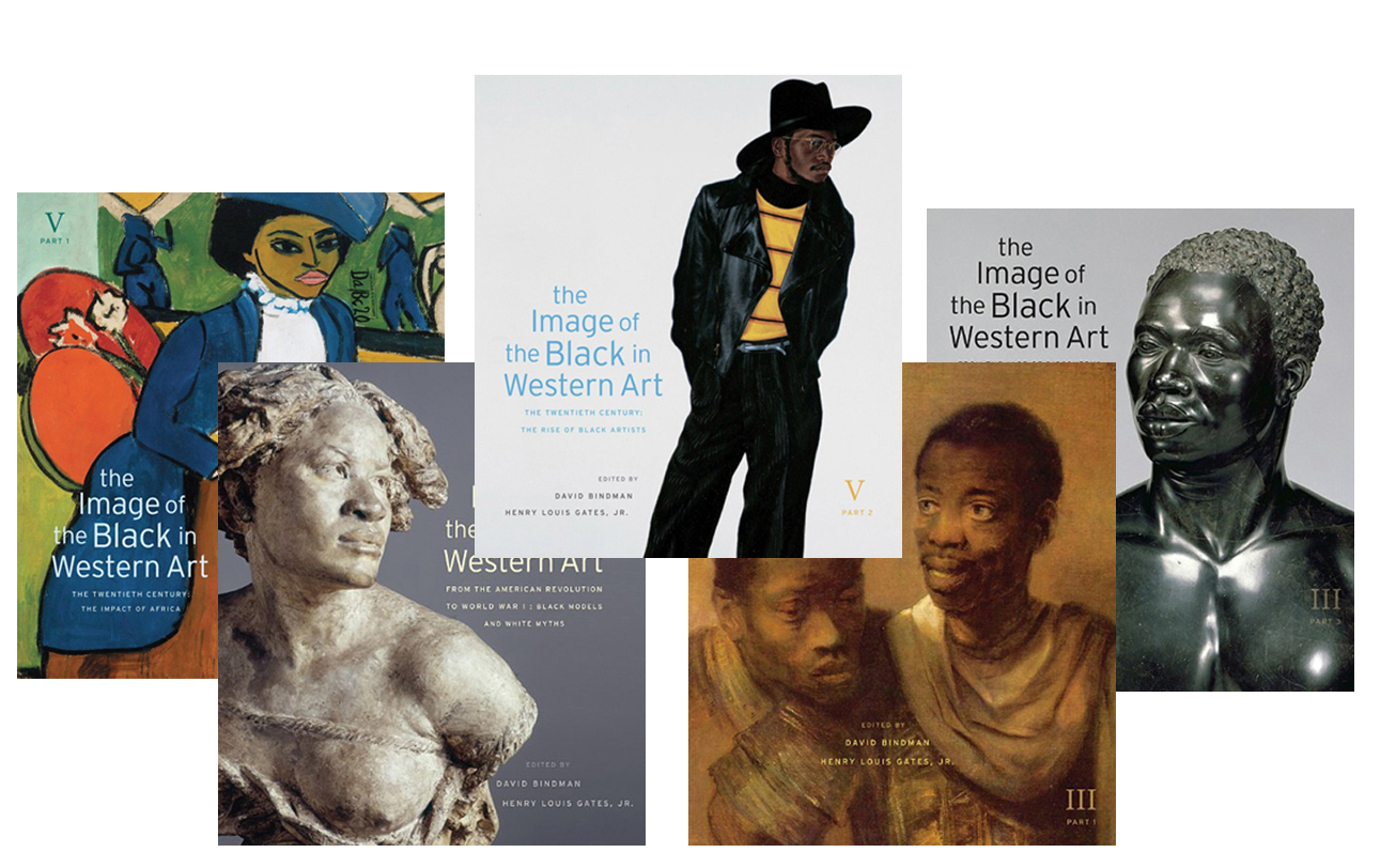 image of black in western art series