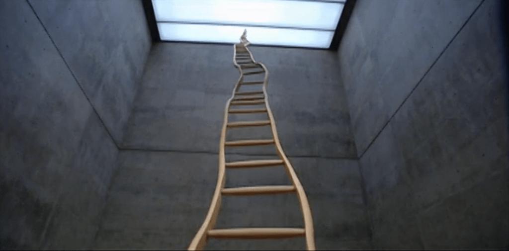 martin puryear - booker t. washington ladder