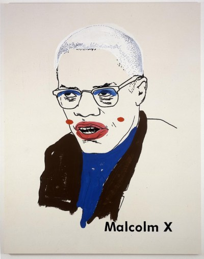 Glenn Ligon - Malcolm X 1 small version 2