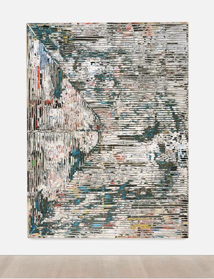mark bradford - scream - installation view