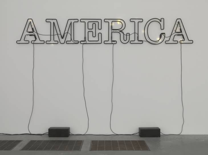 Untitled 2006 Glenn Ligon born 1960 Purchased with funds provided by the American Fund for the Tate Gallery 2008 https://www.tate.org.uk/art/work/T12928