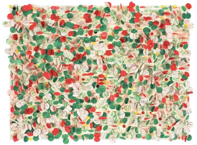 howardena pindell - untitled no. 32
