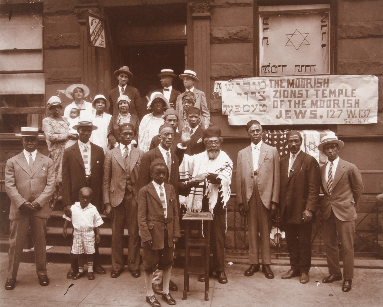 James VanDerZee - Black Jews, Harlem 1929