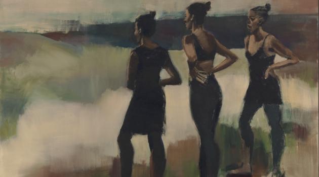 Lynette Yiadom Works on Canvas