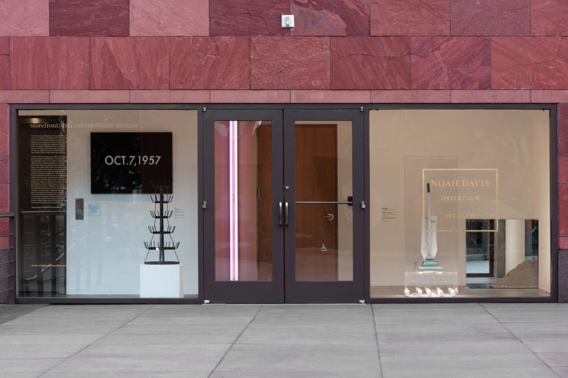 storefront - noah davis - imitation of wealth - moca la