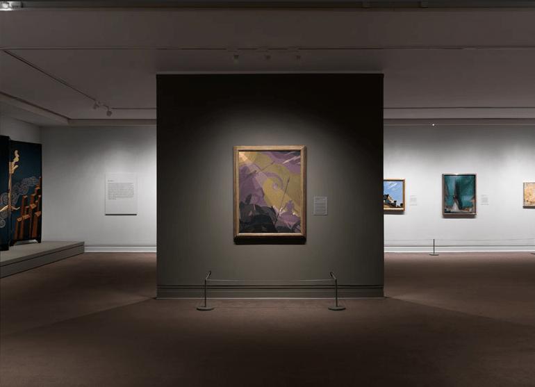 Aaron Douglas - Installation view Met Museum