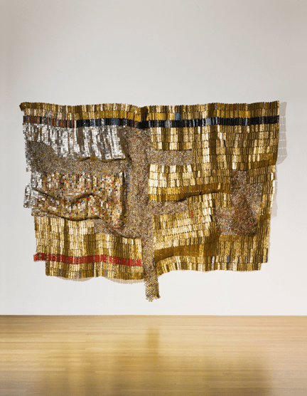 El Anatsui - Paths to the Okro Farm
