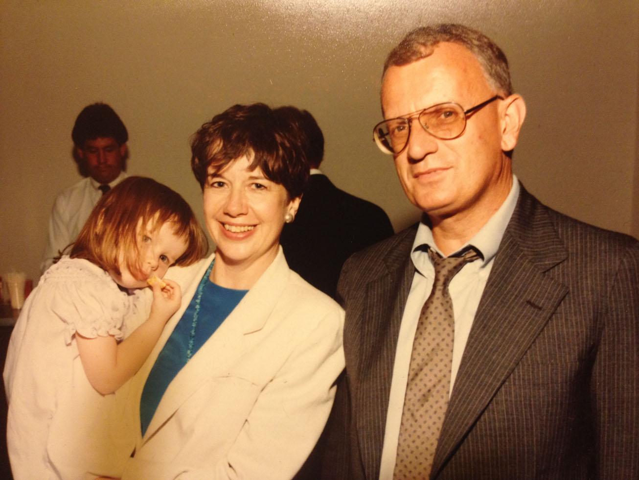 Mara Motey, Valerie Gerrard Browne, Archibald Motley III - family photo