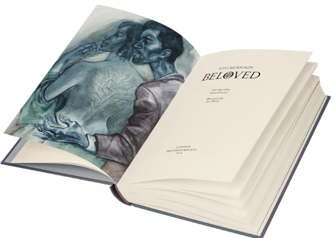illustrated edition of Beloved by Toni Morrison 1