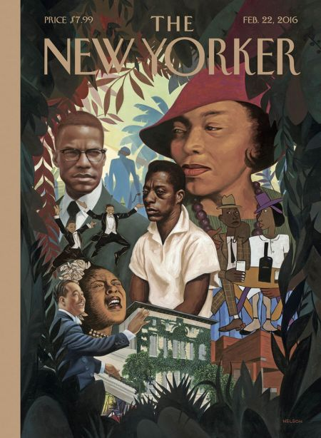 Kadir Nelson - New Yorker Cover - 022216