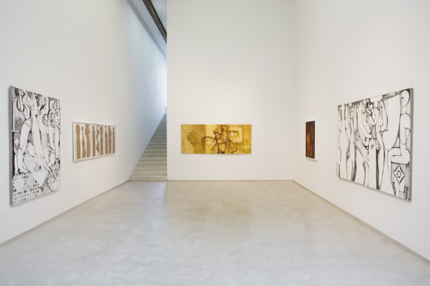 IBRAHIM EL-SALAHI - Alhambra - Installation View - Salon 94